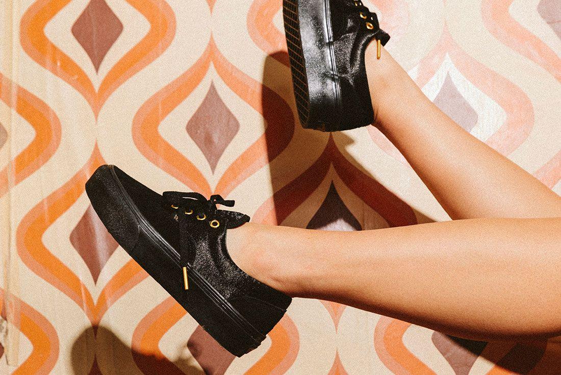 Vans Black Gold Pack 32Jd Sports Exclusive On Foot