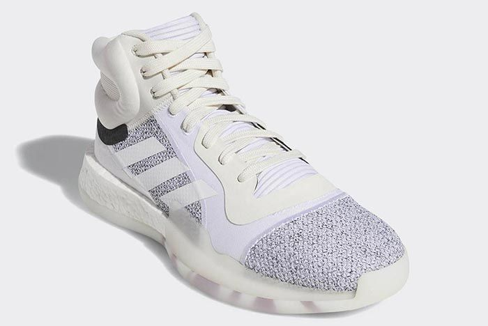Adidas Marquee Boost White 1