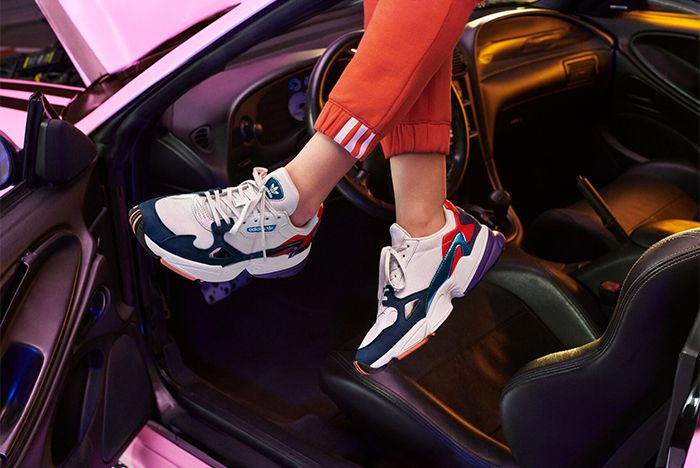 Kylie Jenner Adidas Falcon Release 2