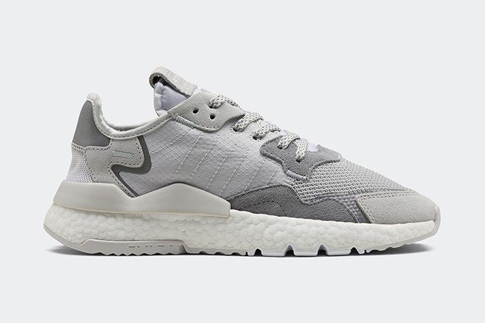 Adidas Nite Jogger Ripstop Reflective Grey Da8692 Release Date Side Profile