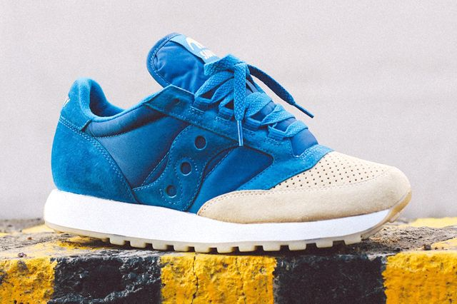 Anteater X Saucony Jazz Sea Sand Sideview
