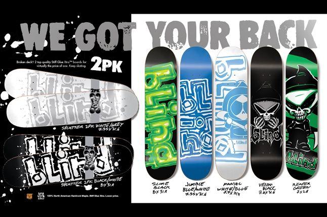Blind Skateboard Decks Holiday 6 1