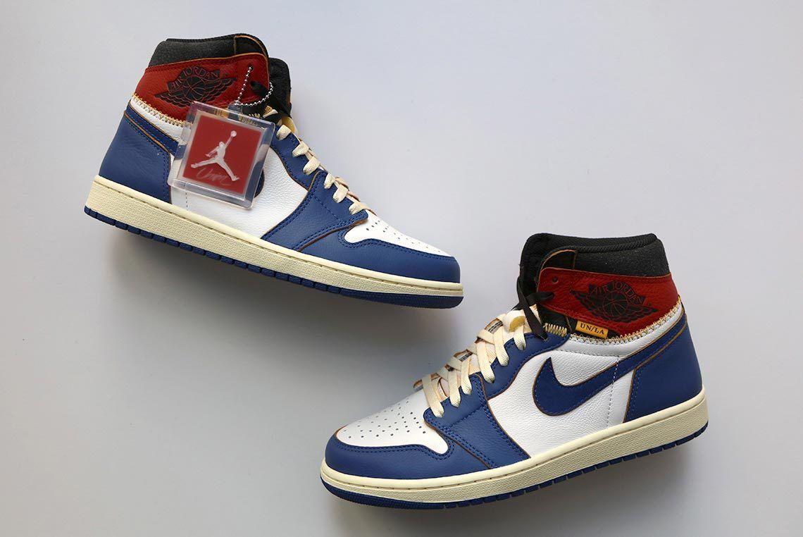 Union La X Air Jordan 1 Blue 1