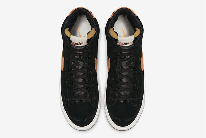 Nike Blazer Mid Vintage Black Amber Rise Top