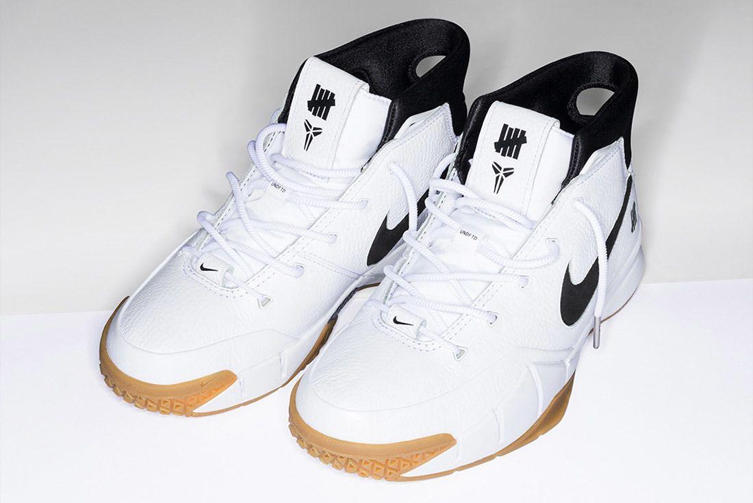 Nike Undefeated Zoom Kobe 1 Proto White 3