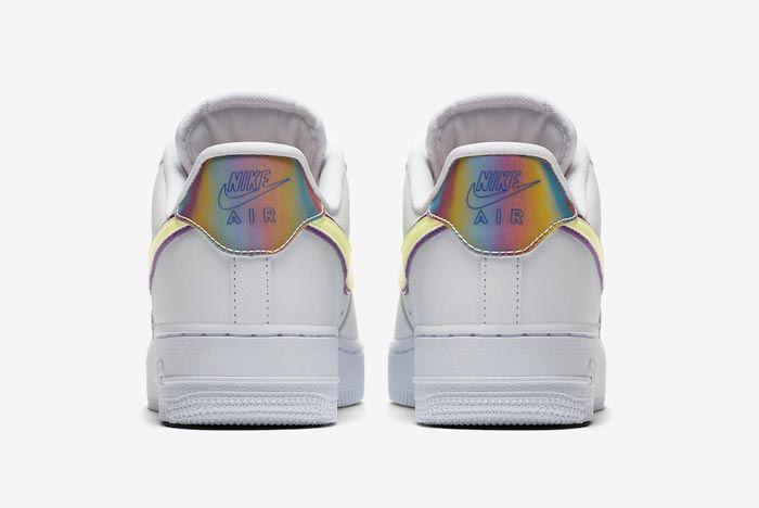 Nike Air Force 1 Easter Heels