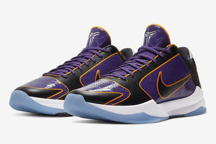 Nike Kobe 5 Protro Lakers Toe