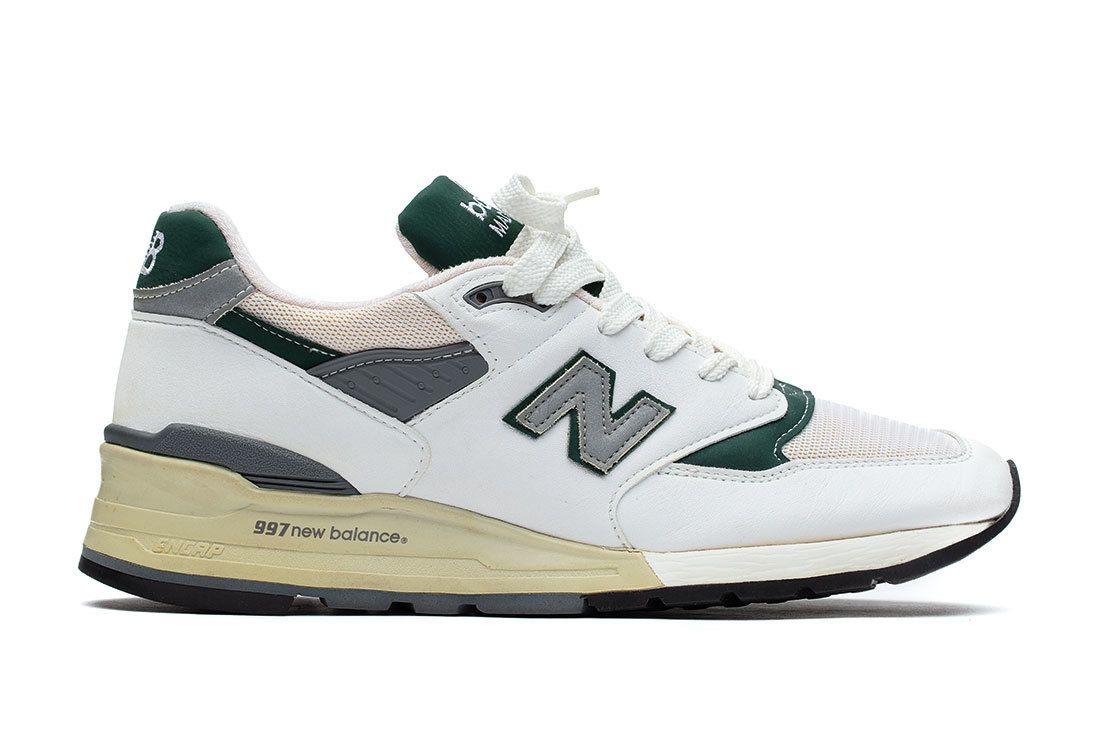Nb 997 White Green