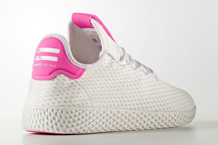 Adidas Pharrell Williams Tennis Hu Pastel Pink 5