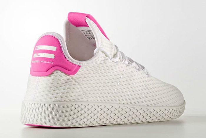 Adidas Pharrell Williams Tennis Hu Pastel Pink 5