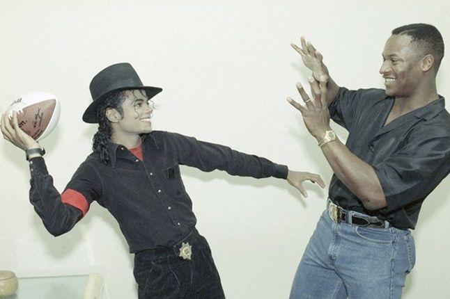 Michael Jackson Bo Jackson 1