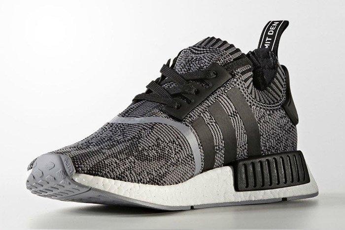 Adidas Nmd R1 Black White 6