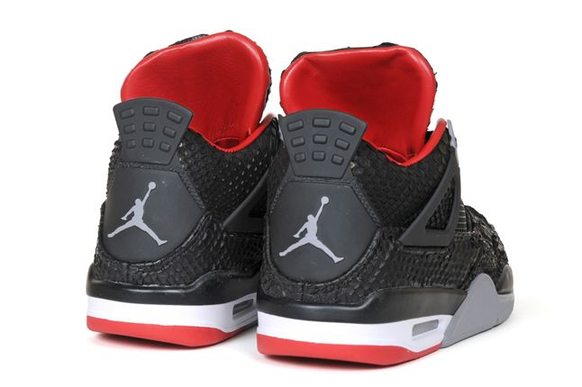 Jbf Custom Python Jordan Iv Heels 1