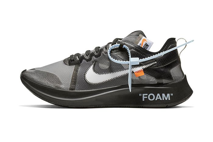 Off White Nike Zoom Fly Sp Black Pink Official 1