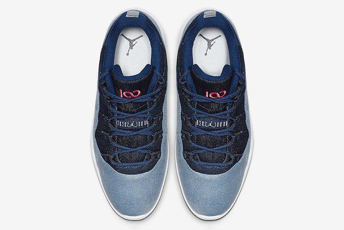 Air Jordan 11 Low Golf Denim Aq0963 400 Top