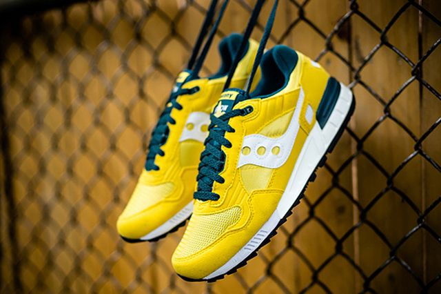 Saucony Shadow 5000 Yellow Green 1