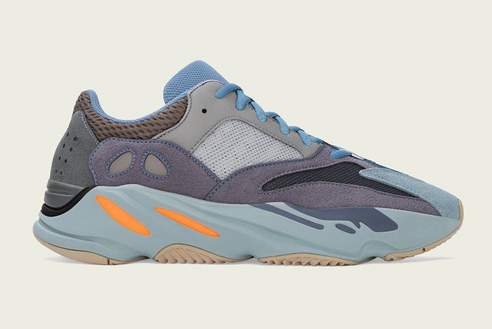 Adidas Yeezy Boost 700 Carbon Blue Right