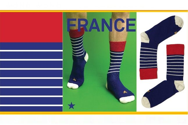 World Cup Socks Wong Wong France 1