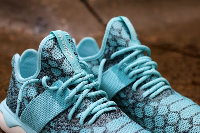 Adidas Tubular Runner Primeknit Blue Spice 2