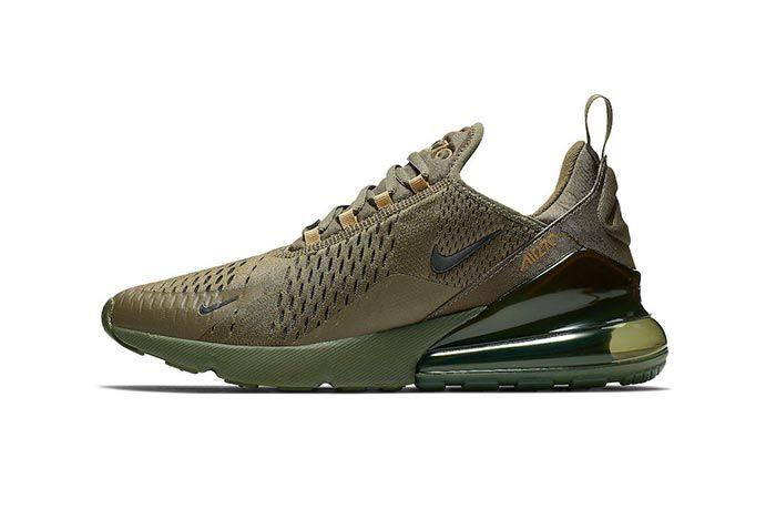 Nike Air Max 270 Triple Olive 1