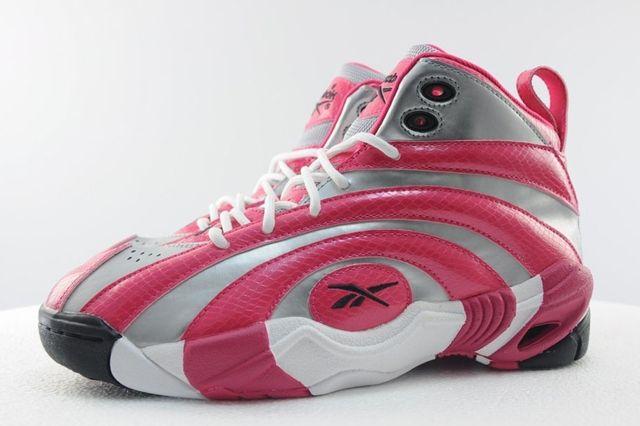Reebok Shaqnosis Pink Silver 7