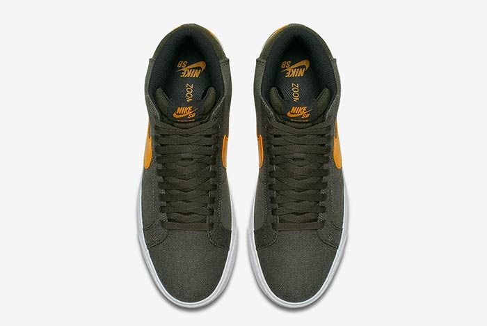 Nike Sb Blazer Sequoiacircuit Orange 3