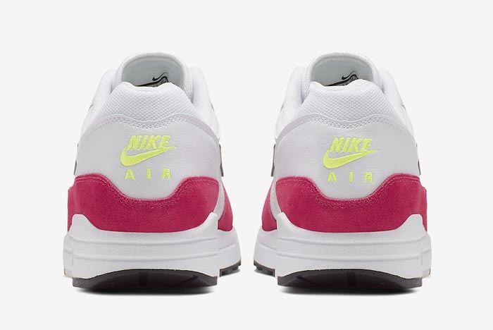 Nike Air Max 1 Rush Pink Heels
