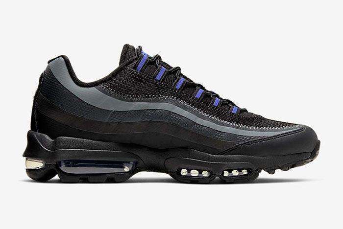 Nike Air Max 95 Ultra Black Right