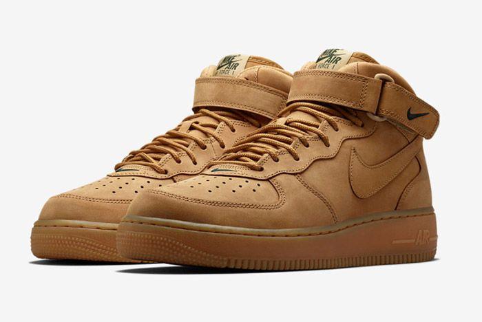 Nike Air Force 1 Flax Mid 1