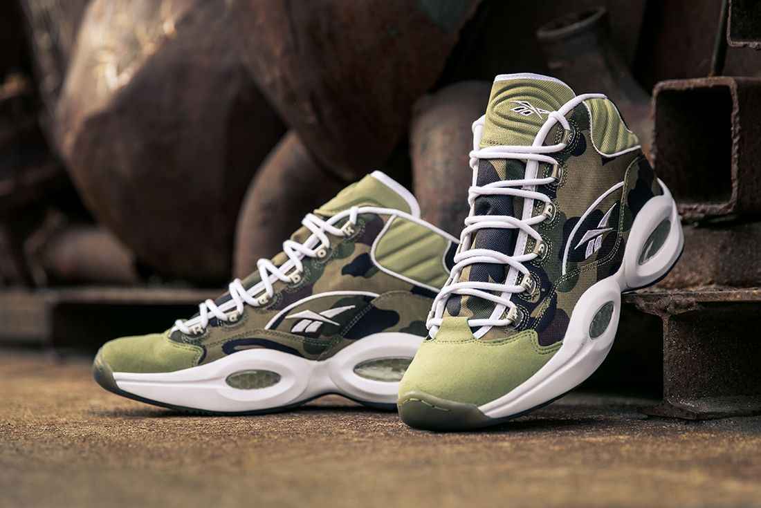 Bape X Reebok Question Mid21