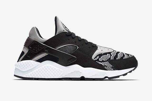 Nike Air Huarache Pa Blackwhite