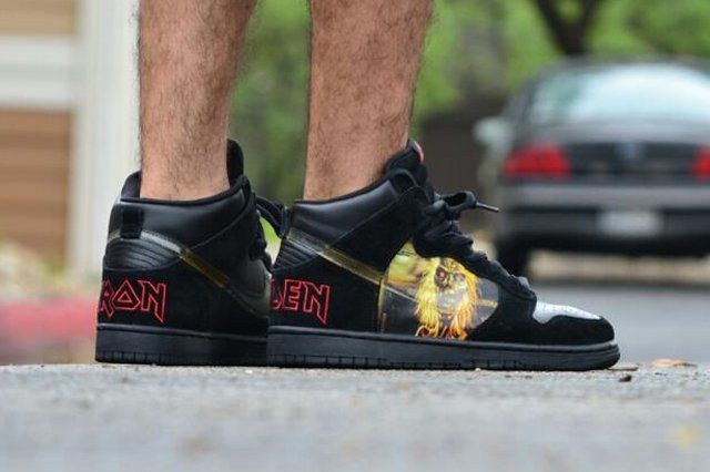 Jd Beltran Nike Dunk High Pro Sb Iron Maiden