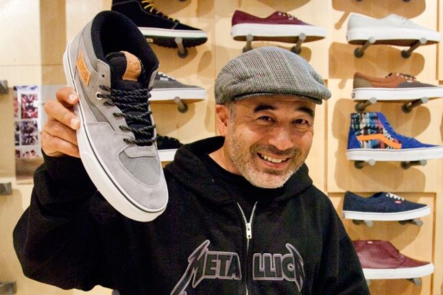 Steve Caballero With Half Cab Close Up 1