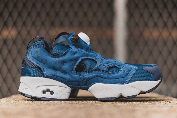 Rrebok Insta Pump Fury Speckled Pack Blue