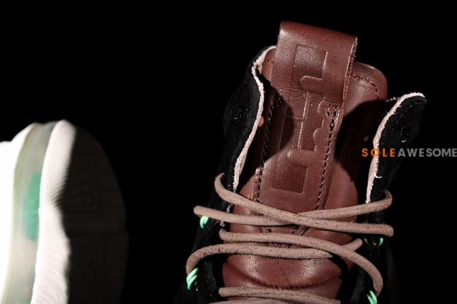 Nike Lebron X 10 Ext Black Suede Qs Tongue 1
