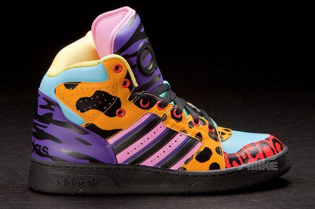 Adidas Obyo Jeremy Scott Instinct Hi Side 1