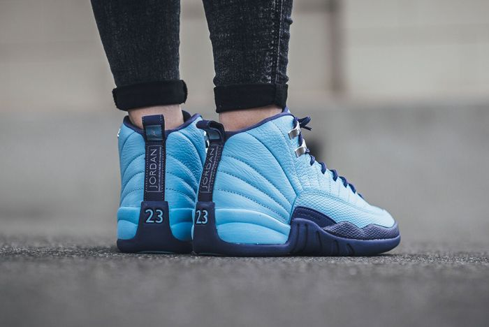 Air Jordan 12 Blue Cap 3