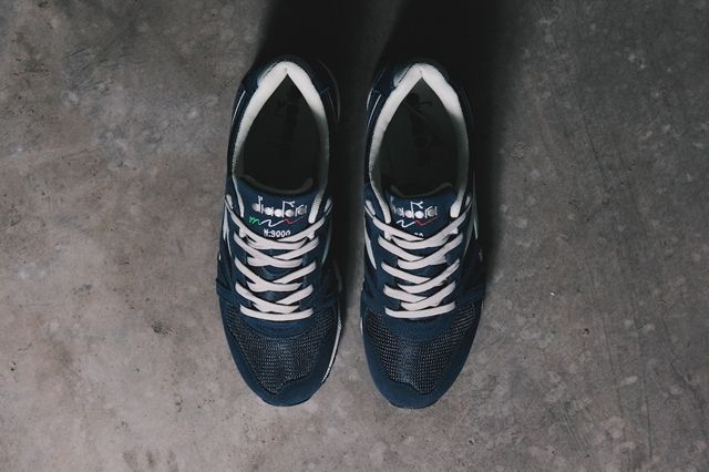 Diadora N9000 Classic Blue Paloma Grey 2