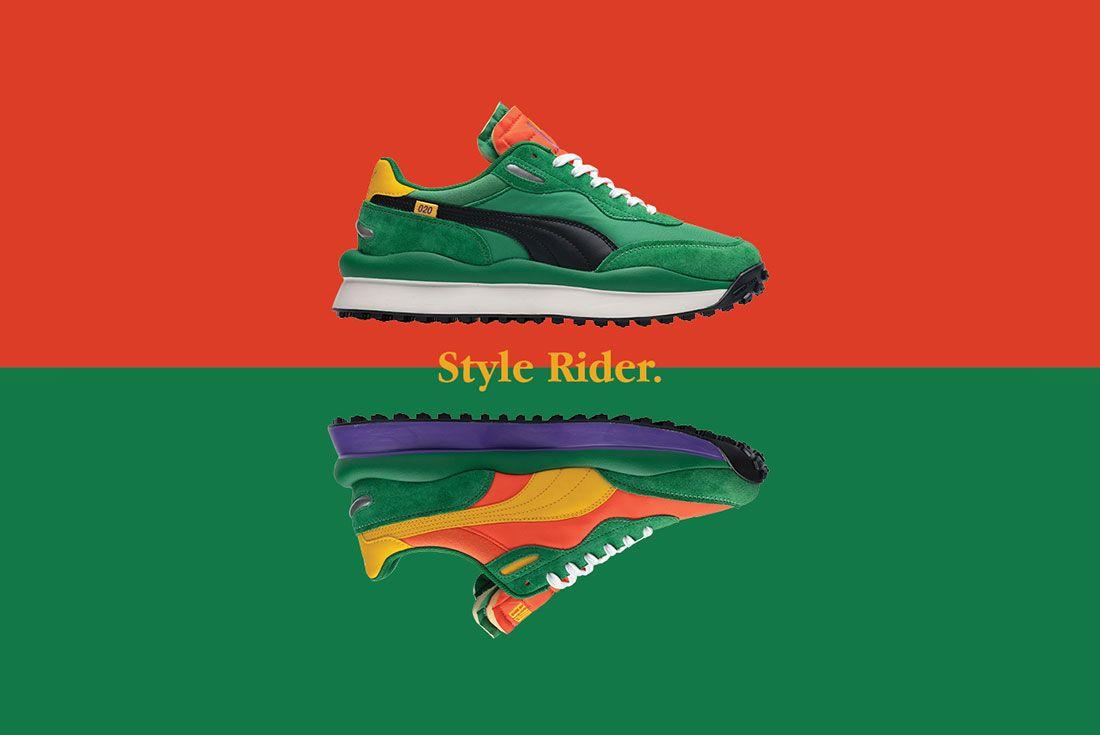 size? x PUMA Style Rider
