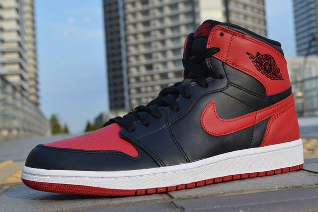 Air Jordan 1 High Og Bred 7