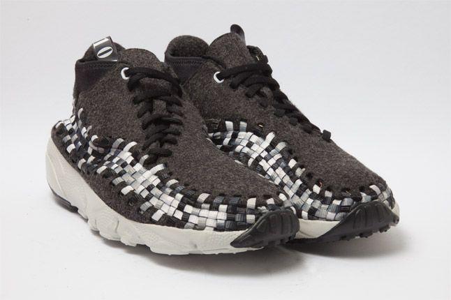 Nike Air Woven Footscape Chukka Black Quarter 1