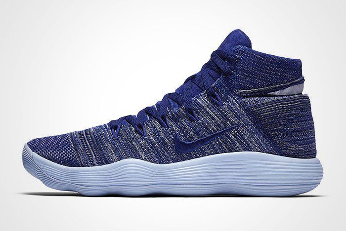 Nike Hyperdunk React 2017 Flyknit Royal Blue Thumb