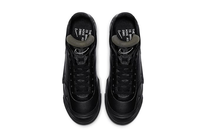 Nike Drop Type Lx Triple Black Cn6916 001 Release Date Top Down