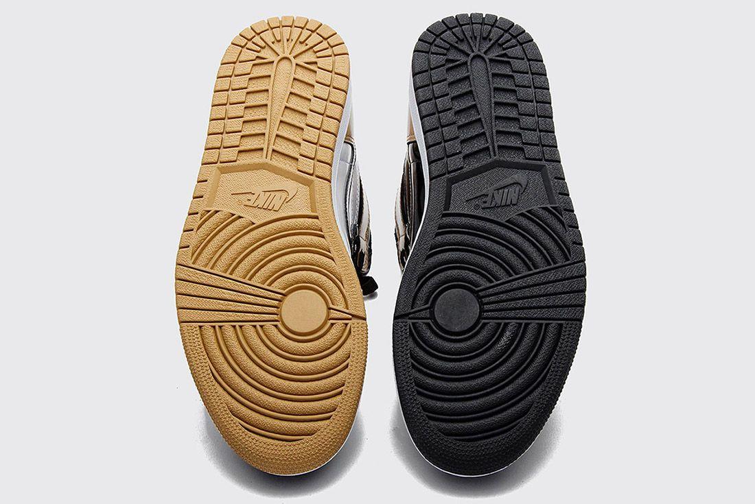Air Jordan 1 Black Gold4