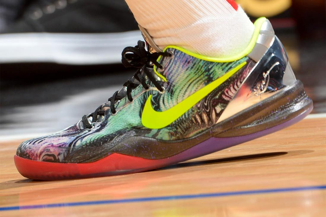 The Steeziest Nba Sneaker Moments From October 1