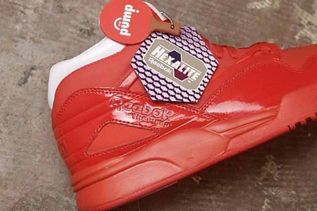 Red Reebok Pump 1