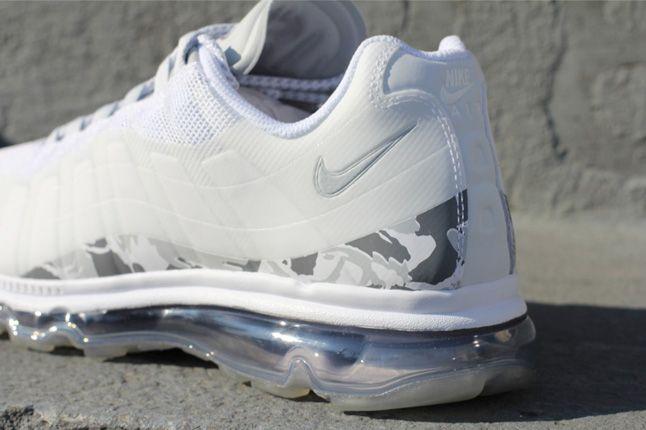 Nike Air Max 95 Bb Snow Camo Heel 1