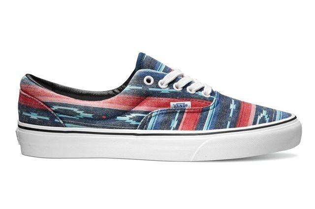 Vans Classics Era Van Doren Multi Stripe Blue Holiday 2013