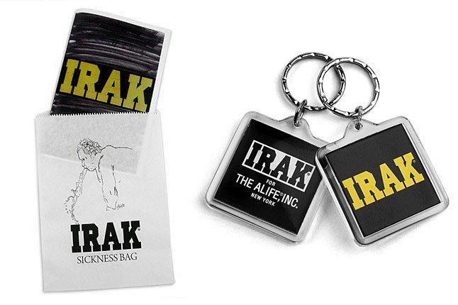 Alife Irak Bag Keyring 1