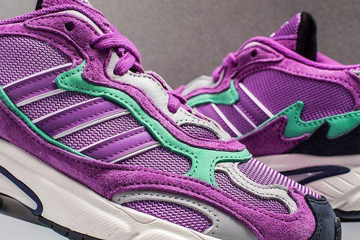 Adidas Temper Run Purple Teal 3